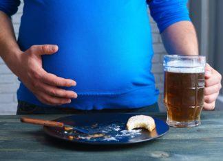 alcohol y peso corporal