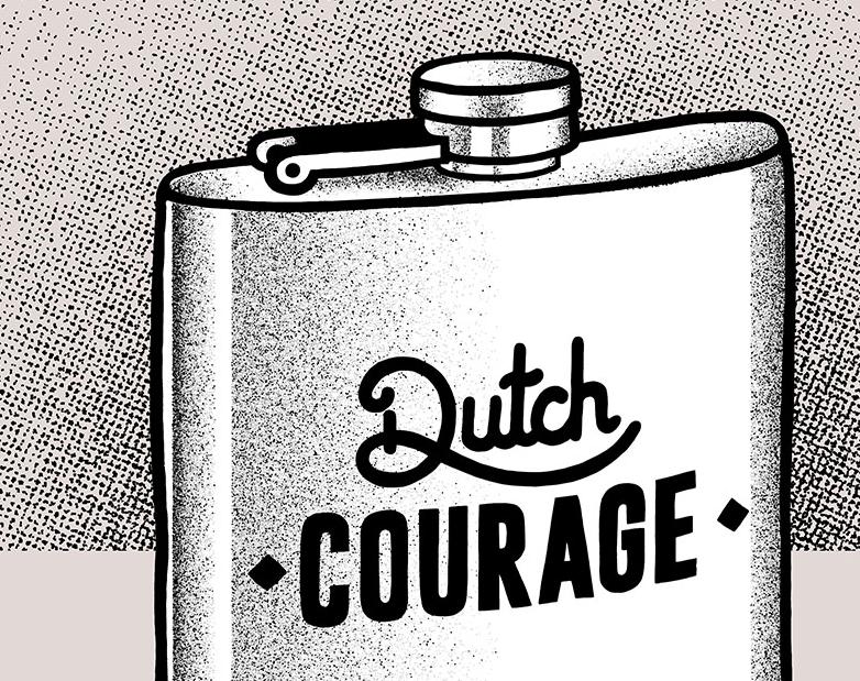 expresion coraje holandes