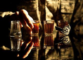 negación del problema del alcohol