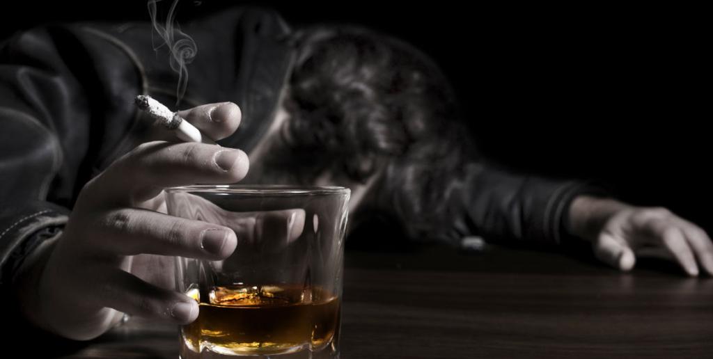 etapa final de un alcoholico
