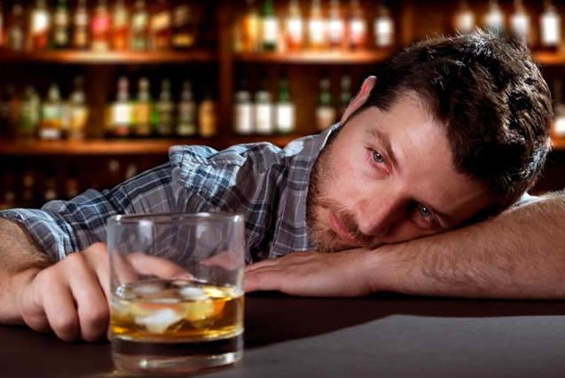 comportamiento de un alcoholico