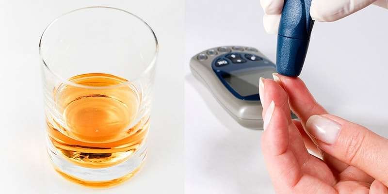 el alcohol afecta en la diabetes