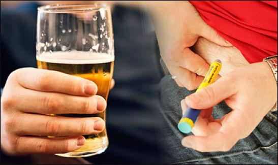 metabolismo del alcohol y diabetes