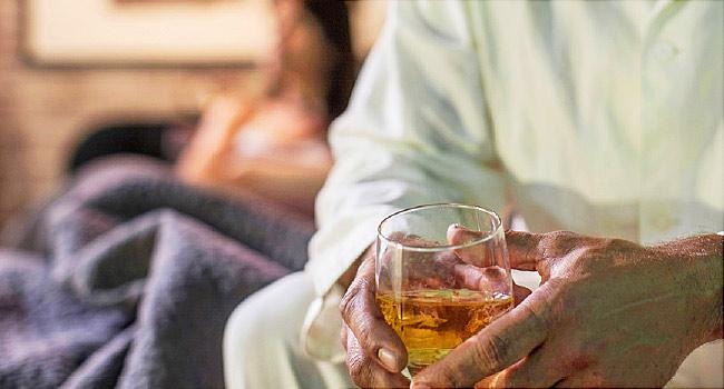 la vida de un alcoholico