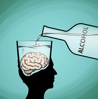 demencia alcoholica reversible