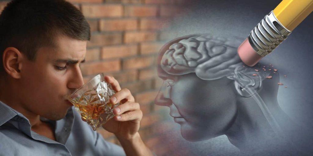 memoria perdida al beber