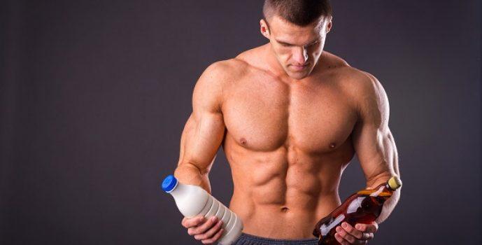 musculos y alcohol