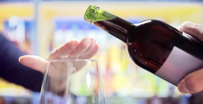 dejar alcohol de golpe