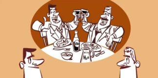 Animacion sobre abuso del alcohol y drogas